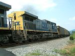 CSX 217 on a SB Coal train