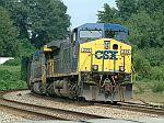 SB Coal train waits