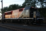 CDOT BL20GH 128 arrives in Danbury yard on train 1844.  This was the first BL20GH up the branch.