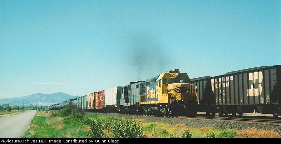 Utah Railway's Provo Local Vineyard,Utah June 20.1997.