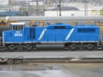 Blue CEFX Locomotive