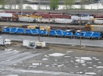 4 Blue CEFX Locomotives