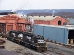 Norfolk Southern 1649 and 3284