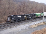 Norfolk Southern 8300 and 7693