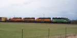 BNSF 2104, 2313, 2359 and 2921 geting ready for the next crew