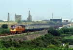 BR D1015 Royal Duchy Railtours passes South Crofty Tin Mine