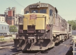 Rock Island power at Milby Street in 1972