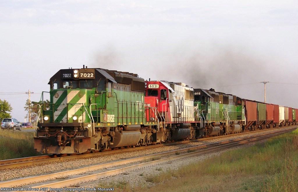 BNSF 7022