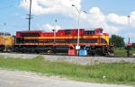 KCS 4046 and UP 6563