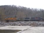 Three BPRR Units Lead a Train