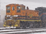 BPRR 1512 sits in a heavy snowstorm