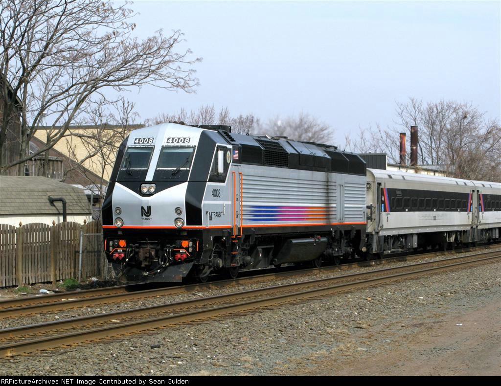 NJT Train 5521