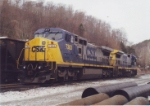 CSX 7383 and 7633