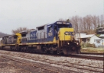 csx 7633 and 7383