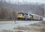 CSX 8832 and 8457