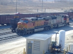 BNSF 4399 and 8202