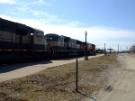 BNSF 9578 and 9816