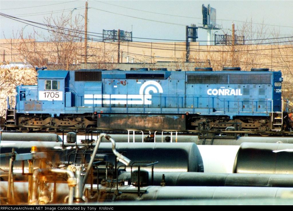 NS 1705 Former Erie Lackawanna SD45-2