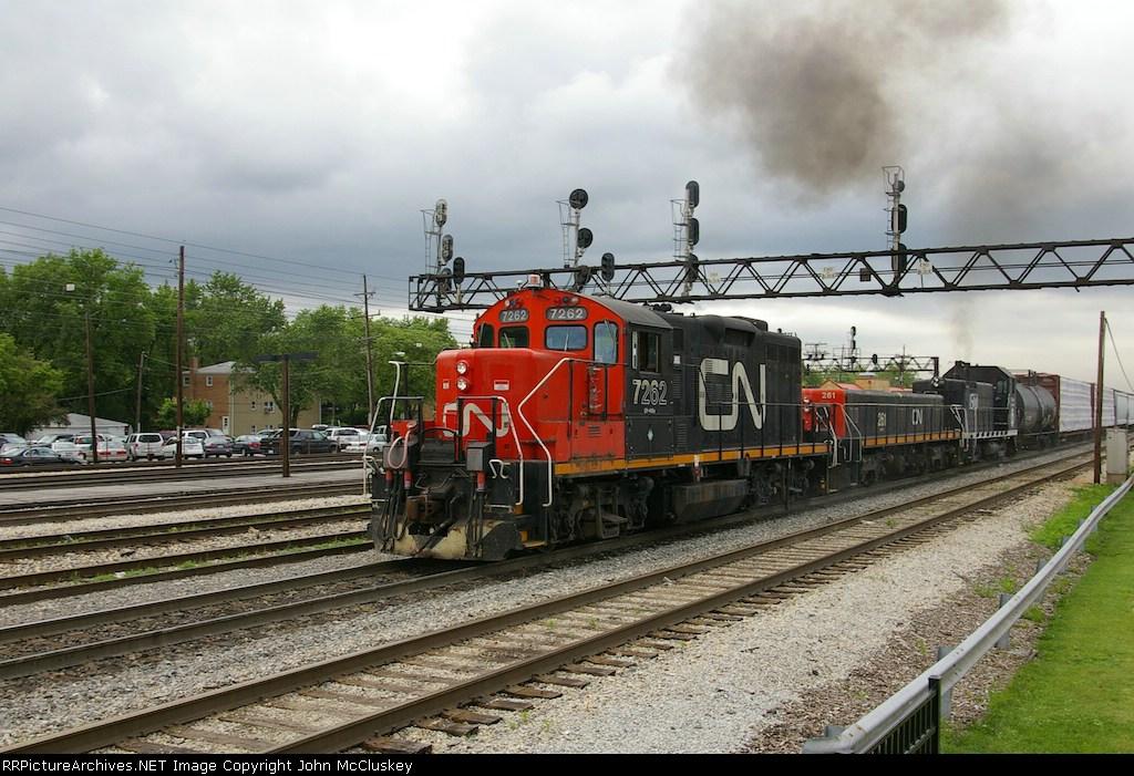 CN 7262, 261 & IC 1500