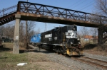 NS 5222 leads CSAO WPCA-51 southbound
