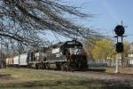 MI-21 returns to its train