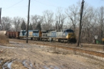 CSX 235 heads to Barr