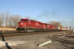 CP 8795 takes off for Chicago