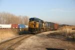 CSX 5406 gets ready to head to US Steel via the EJ&E