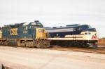L&Nized 796  and CSX GP 40-2 at Memphis Junction