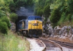 CSX 7715 at the Tunnel