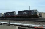 CN SD40's