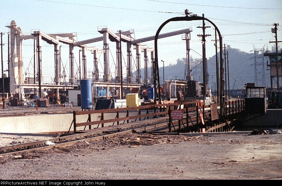 Taylor Yard engine service area after 1996