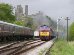 D1015 Western Champion at Corfe Castle