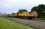 Loram Railgrinder heading East at CP Lees Cross Roads on the NS Lurgan Branch