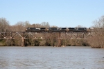 NS 67E south on Catawba River bridge