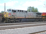 KCS 4575, Another view of the NAFTA engine