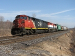 CN 2444 at Mile 260 Kingston Sub.