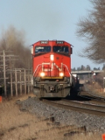 CN 2640 at Mile 260 Kingston Sub.