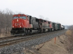 CN 5608 at Mile 260 Kingston Sub.
