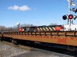 CN 5555 at Cobourg