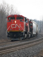 CN 8842 at Mile 260 Kingston Sub