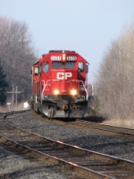CP 6608 at Spicer Siding