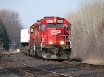 CP 6608 at Spicer Siding with train 122.