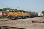a Pair of TSBY GP35's lead their train South through Durand.