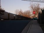Autoracks Passing South 13th Street