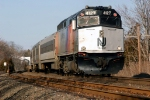NJT 4127 on the old NY&LB RR