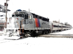 NJT 4206 On Time Dispite snow