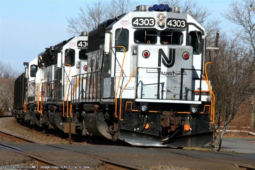 NJT 4303 Rail Train