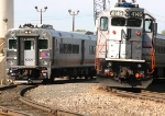 NJT 4149 Action in the Railyard