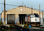 NJT 4119 The old PRR Engine House